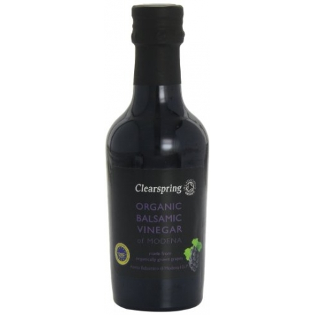 Otet Organic Balsamic Clearspring, 250 ml