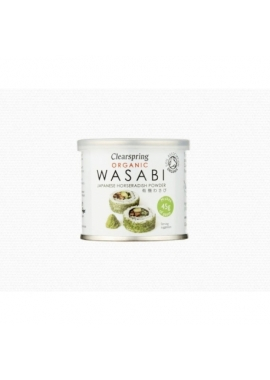 Pudra Wasabi Organica - Clearspring, 25 g
