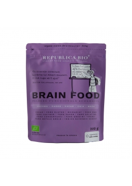 Brain Food, pulbere functionala ecologica Republica BIO, 200 g