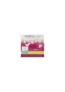 Absorbante bio Natracare ultra extra - normal, 12 bu