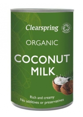 Lapte de Cocos Organic 400ml Clearspring