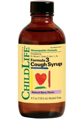 Sirop Cough (copii) 118.5ml Childlife Essentials