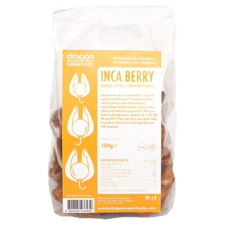 Fructe incan (golden) berry raw bio 150gr, Peru