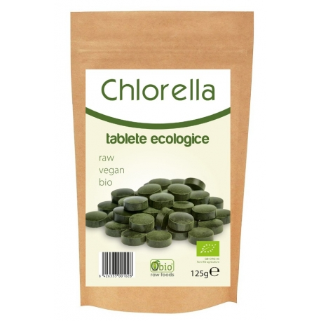 Chlorella Tablete Raw Bio 250 Tablete (125G)